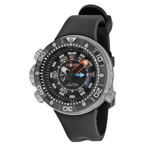 $569.99 - Citizen Promaster Aqualand Depth Meter Black Dial Mens Watch BN2029-01E