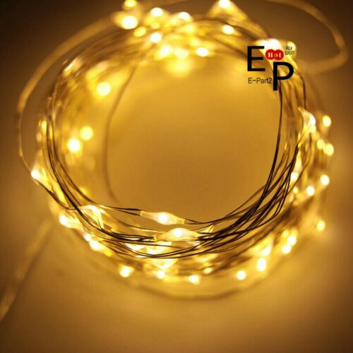 20M 200LED Copper Wire Party USB Twinkle LED String Fairy Lights With Remote USA