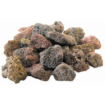 NATURAL LAVA ROCKS 6 Lb Gas Grill Rock Stones Grilling Barbecue Outdoor Cooking - Gas Grill Rock