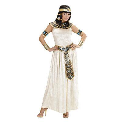 DELUXE CLEOPATRA KOSTÜM Karneval Damen Kleopatra Kleid Ägypterin Pharaonin 3277