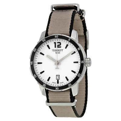 Tissot Quickster Silver Dial Men's Watch T0954101703700