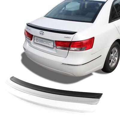 Rear Trunk Lip Spoiler Wing Fits: Hyundai Sonata 2011-2014 White Color