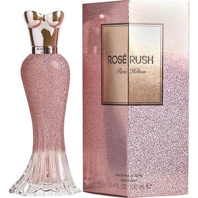 - Women Paris Hilton ROSE RUSH 3.4 oz EDP Spray New in Box