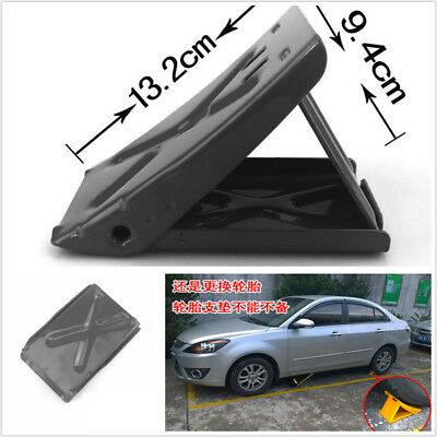 High Quality Thick Steel Plate Car SUV Tire Wheel Stop Block Anti-slip Slope X1 75 High Commercial Steel