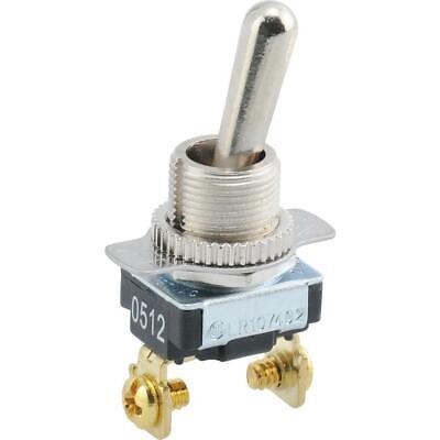 Servalite 10-amp Single-pole Zinc-plated Toggle Light Switch L40au 393209