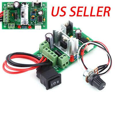 6v 12v 24v Pwm Dc Motor Speed Controller Reversible Switch Adjustable Governor