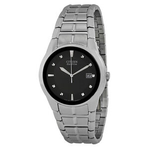 Citizen Mens Eco-drive Stainless Steel Watch BM6670-56E