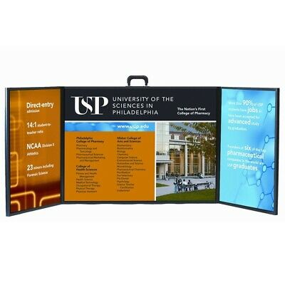 Voyager Mini Trade Show Briefcase Presentation Display Board