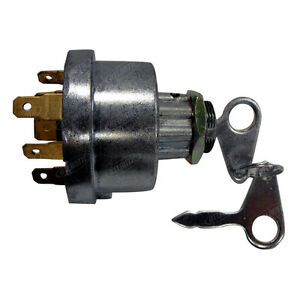Ford Tractor Ignition Switch Ebay. Ford Tractor Ignition Switch For Models With Preheat 81871583 E7nn11n501ab. Ford. 5030 Ford Tractor Starter Wiring Diagrams At Scoala.co