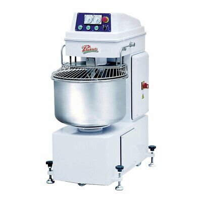 Primo Psm-80e 2-speed Spiral Mixer With 141 Qt. Bowl 176 Lbs Dough Capacity