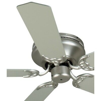 Craftmade Ceiling Fan, Brushed Nickel Contemporary Flush Mount - K11001