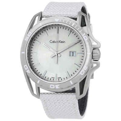 Calvin Klein Earth White Dial Men's Watch K5Y31VK6