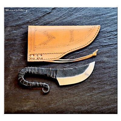 Mittelaltermesser mit Lederscheide - Gebrauchsmesser Messer