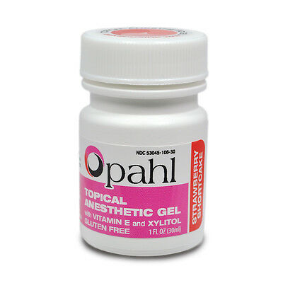 Topical Anesthetic - Opahl Topical Anesthetic Gel 20% Benzocaine x 1.12oz