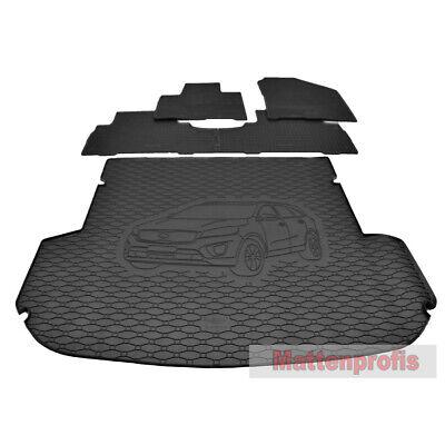 3 Sitzreihen eingeklappt Kofferraumwanne passend für Kia Sorento ab 2014 7 Pers