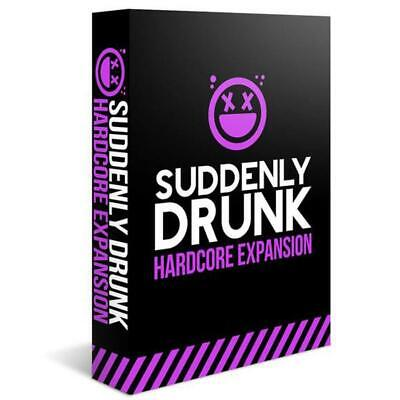 Suddenly Drunk: Hardcore Expansion SEALED UNOPENED FREE SHIPPING