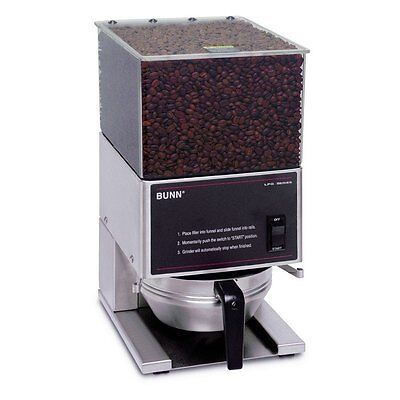 Bunn 20580.0001 6lb Coffee Grinder Low Profile Portion Control