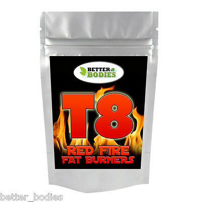 Stark T8 Fett Brenner Diät & Gewichtsverlust Tabletten Abnehm Pillen Rechtlich