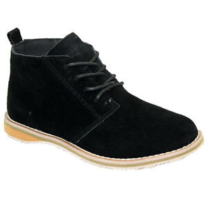 NEW LADIES WOMENS HI TOP SUEDE LEATHER LACE DESERT BOOTS ANKLE TRAINERS SHOES