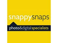 SKILLED PHOTOSHOP DESIGNER for Snappy Snaps NW3