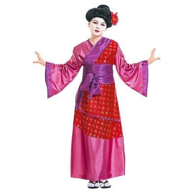 CHINA GIRL KINDER KOSTÜM Karneval Geisha Chinesin Japanerin - Kimono Girl Kostüm