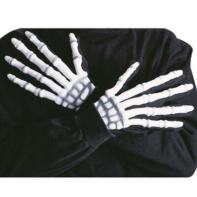 alloween Sensenmann Tod Verkleidung Herren Kostüm Party 8413 (Halloween Kostüme Skelett Handschuhe)