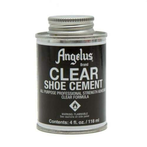 Angelus Clear Shoe Cement Adhesive 4oz
