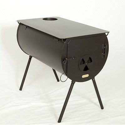 NEW! Scout Cylinder Wood Stove for Wall Tent. Made in the US