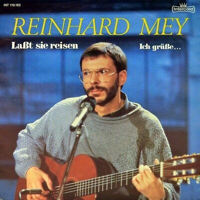 """7"""" REINHARD MEY Laßt sie reisen / Ich grüsse... INTERCORD Liedermacher orig.1985"""