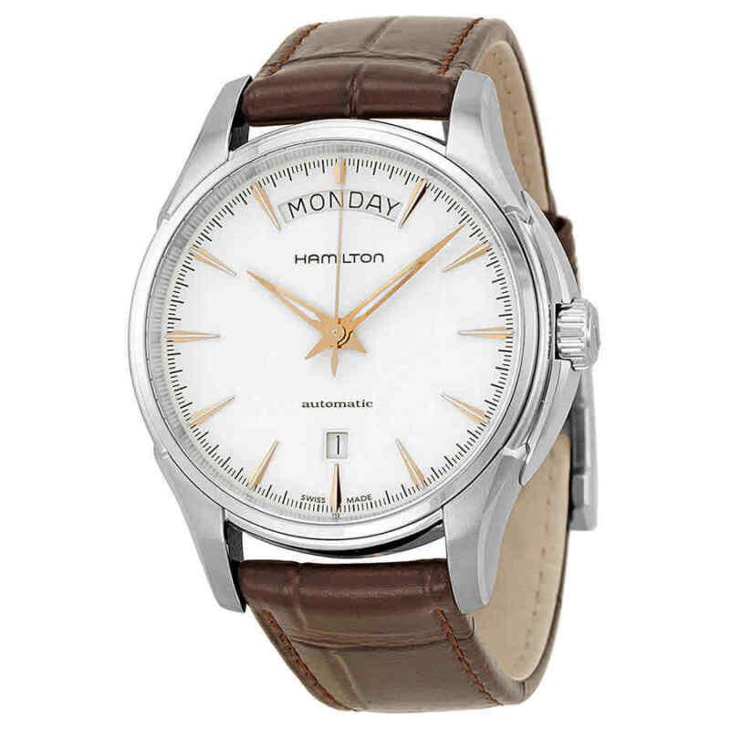 Hamilton Jazzmaster White Dial Stainless Steel Men Watch H32505511