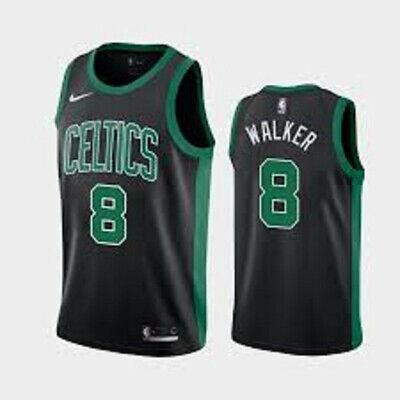 WALKER CAMISETA DE LA NBA DE LOS CELTICS NEGRA. TALLAS 2XL.