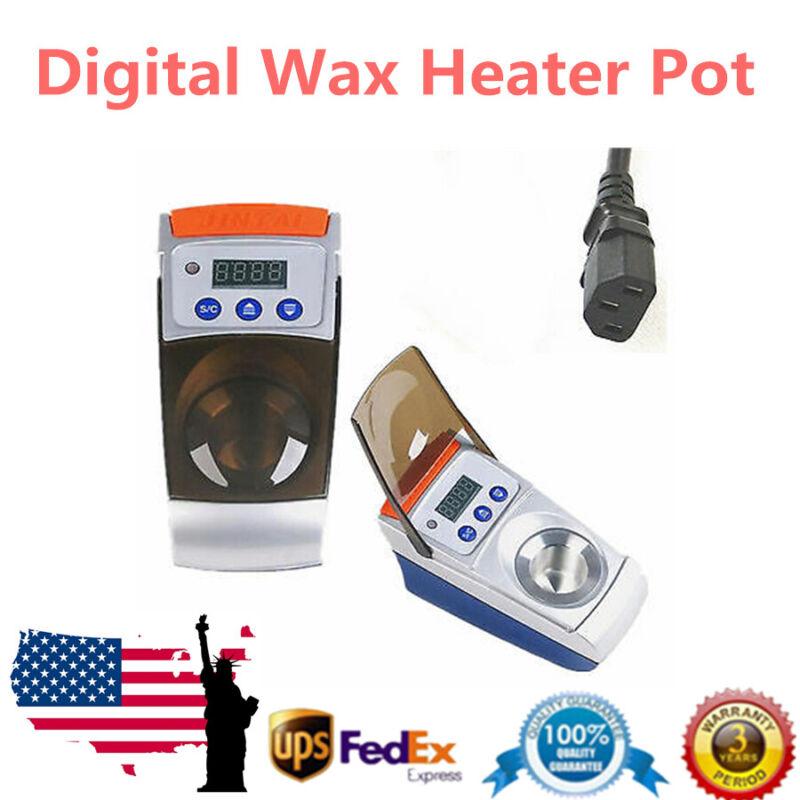 Dental Lab ONE-Well Wax Heater Melter Pot Equipment Digital Melting Dipping 110V