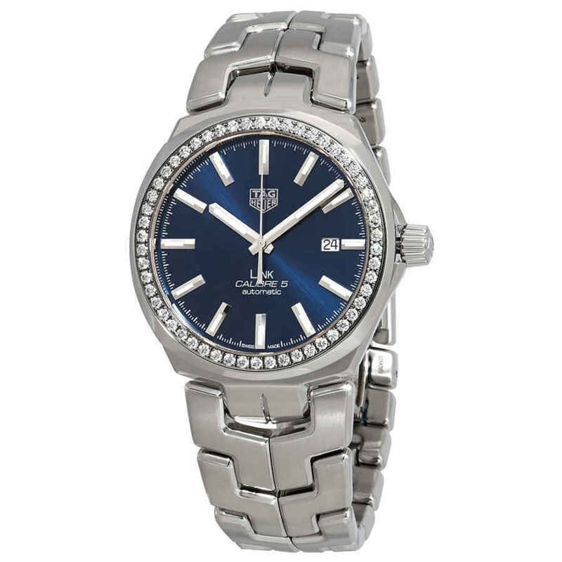 Tag-Heuer-Link-Caliber-5-Automatic-Diamond-Men-Watch-WBC2113.BA0603