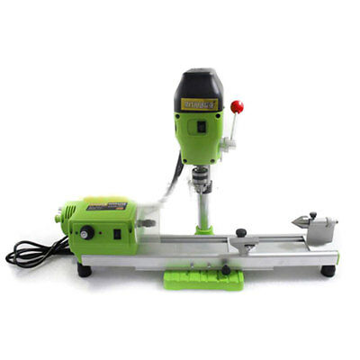 Mini Precise Lathe Machine Diy Wood Lathe 480w Mini Bench Drill 220v For Wood