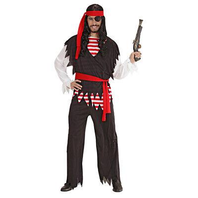 HERREN PIRATENKOSTÜM Karneval Piraten Seeräuber Karibik Männer Kostüm Party - Räuber Kostüm Männer