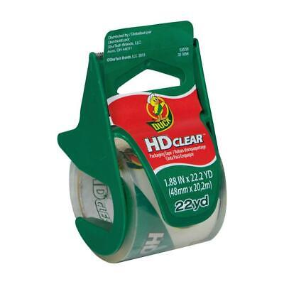 Duck Hd Heavy Duty Clear Shipping Packing Tape With Dispenser