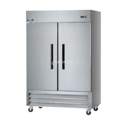 Arctic Air Ar49 Commercial Double Door Reach In Refrigerator Approved