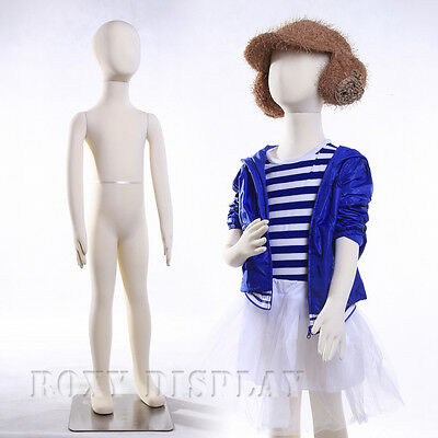 Full Body Jersey Covered Flexible Children Mannequin Dress Form Display Ch07t