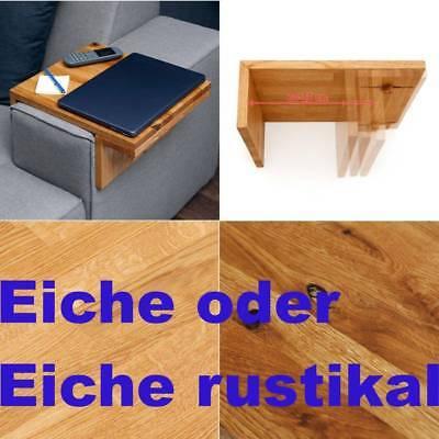 Verstellbare Breite Sofa (TABLETT FÜR SOFA COUCH ARMLEHNE 20 - 25 CM BREITE VERSTELLBAR TABLEAU BUTLER)