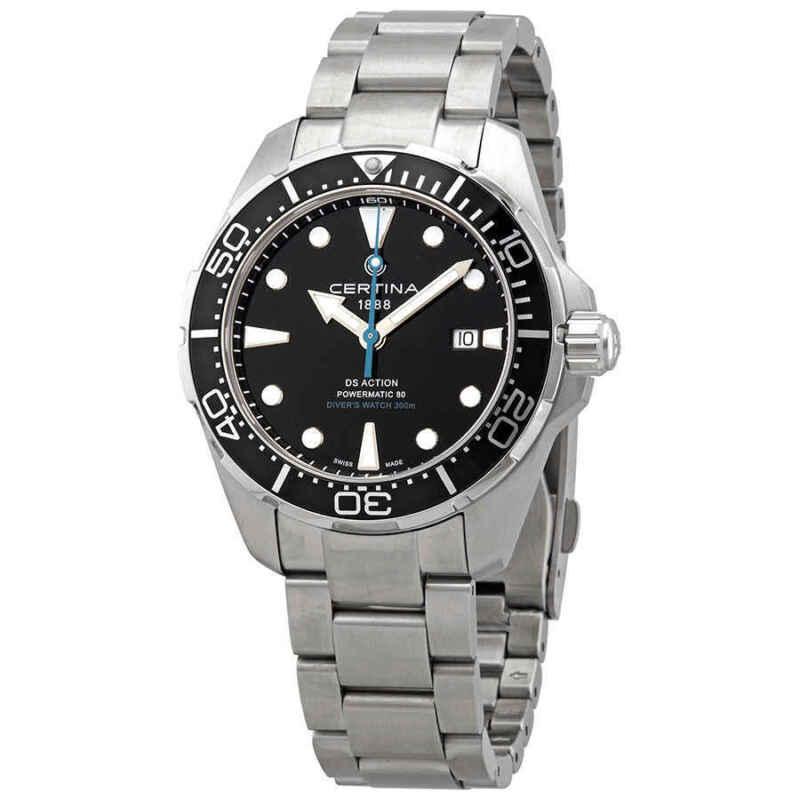 Certina DS Action Diver Automatic Black Dial Men Watch C032.407.11.051.10
