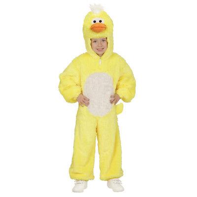 ENTEN PLÜSCHKOSTÜM Kinder Plüsch Kostüm Mädchen Huhn Küken Verkleidung 104 98088
