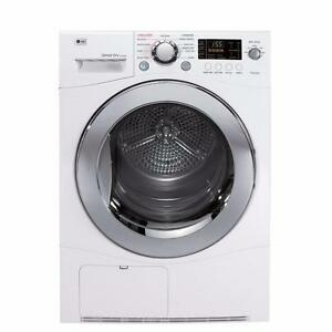 "LG Compact Ventless Dryer 24"" Apartment size DLEC855W"