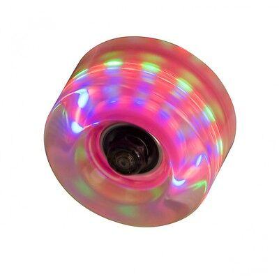 Lights For Roller Skates (Flashing Light Up Roller Skate Wheels - Ideal for Roller)