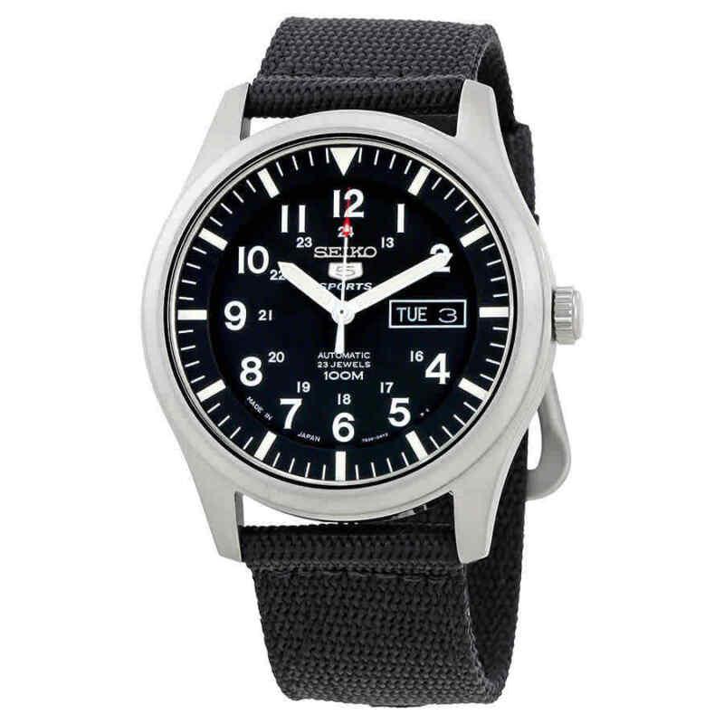 Seiko-5-Automatic-Black-Dial-Men-Watch-SNZG15J1