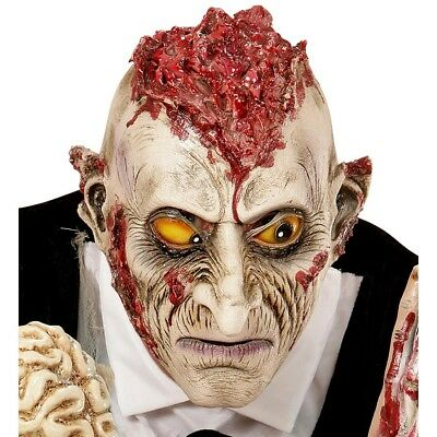 ZOMBIE KINDER LATEX MASKE # Halloween Untoter Jungen Grusel Kostüm Party - Latex Zombie Kostüm