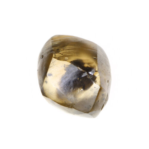 Gorgeous Gold Brown Color 0.96 Carat SI3 Clarity Charming Natural Rough Diamond