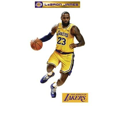 LeBron James - LIFE SIZE Officially Licensed NBA Removable Wall Decal*Fathead - Fathead Nba Life