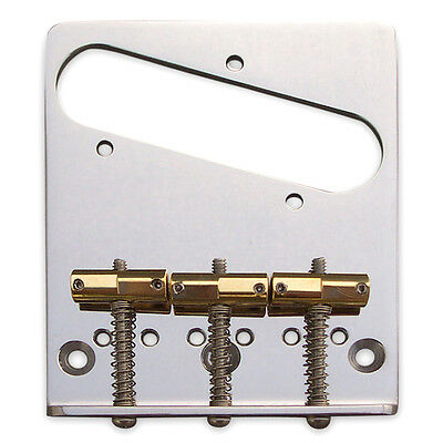 Callaham American Standard Bridge Assembly for Telecaster®, Enhanced Saddles