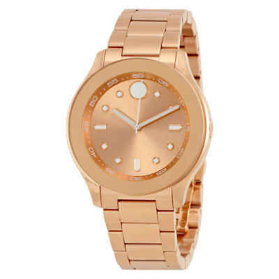 Movado Bold Rose Dial Ladies Watch 3600417