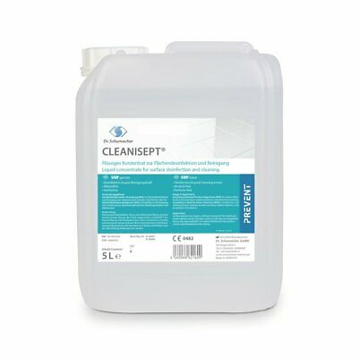 5 Liter Cleanisept Dosierflasche Flächendesinfektion alkoholfrei Desinfektion